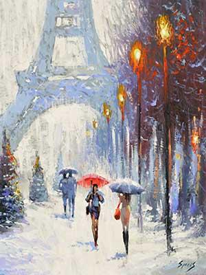 Spiros: Párizs télen