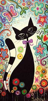 A fekete cica
