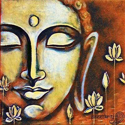 Buddha élményfestés